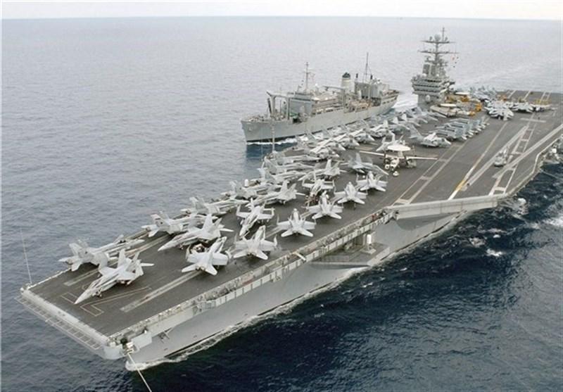پشت پرده حضور ناو آمریکایی در خلیج فارس