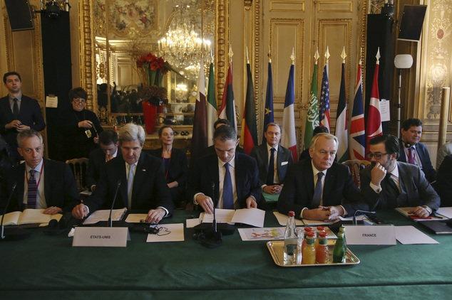 رسانه ها ؛ پایان بینتیجه نشست سوریه در پاریس و…