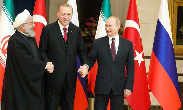 رسانه ها ؛ نشست سهجانبه ایران، روسیه و ترکیه و…