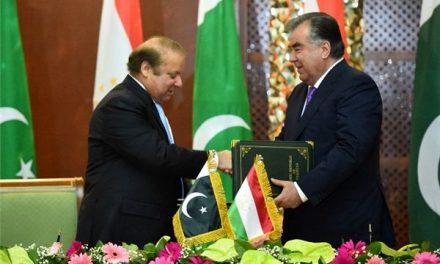اهداف مهم پاکستان از گسترش روابط با تاجیکستان