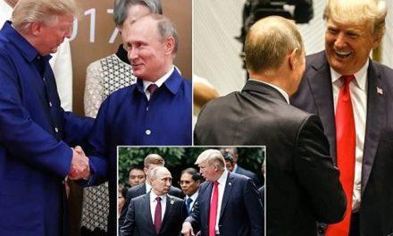 مختصات دیدار ترامپ و پوتین