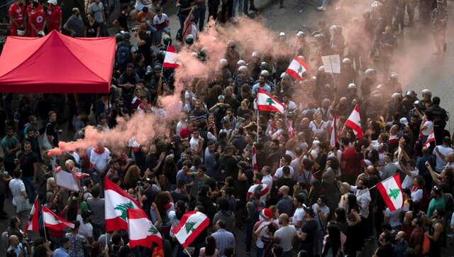 Popular Protests and Foreign Interventions in Lebanon
