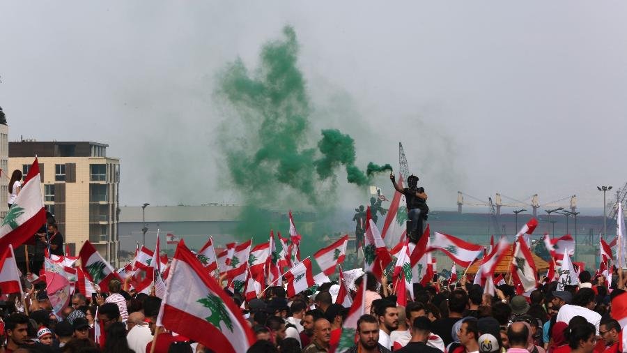 Traces of Foreign Interference in Lebanese Unrest