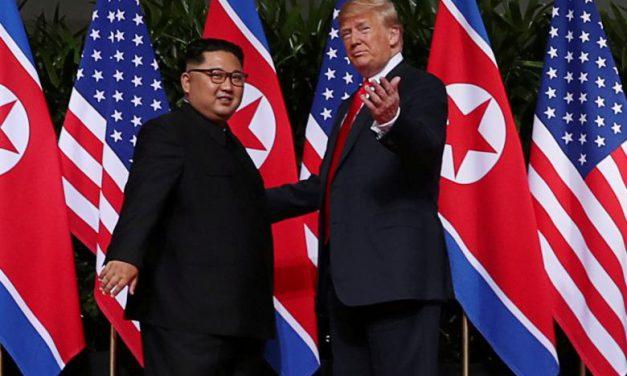 بازی آمریکا با کره شمالی