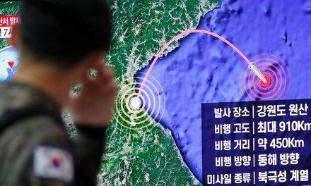 رسانه ها؛ آزمایش موشکی کره شمالی در دریای ژاپن و…