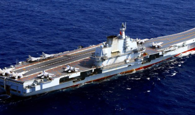 نگرانی آمریکا از قدرت دریایی چین