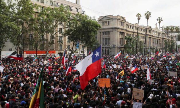 پشت پرده اعتراضات شیلی
