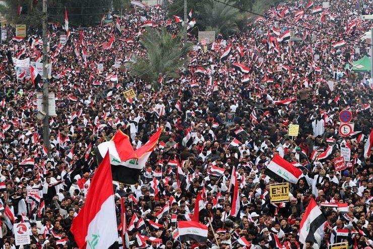 Massive Anti-American Rallies; Message of Unity in Iraq