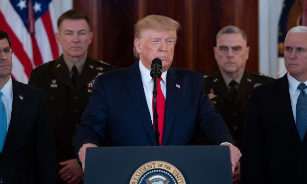 ادعا و عملکرد متناقض ترامپ در خاورمیانه