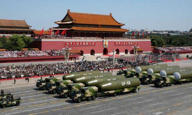 شرط الحاق احتمالی چین به مکانیزم کنترل تسلیحات هستهای
