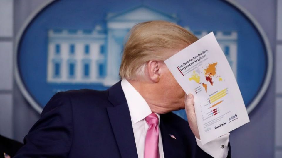 شکست ترامپ در انتخابات با شیوع کرونا در آمریکا