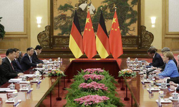 منطقه راهبردی خاکستری آلمان با چین