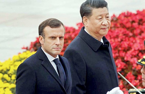 Corona and France's support for increasing pressure on China