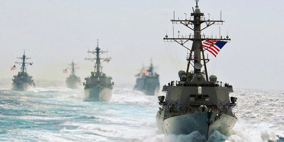 Reasons for US Military Buildup in South China Sea