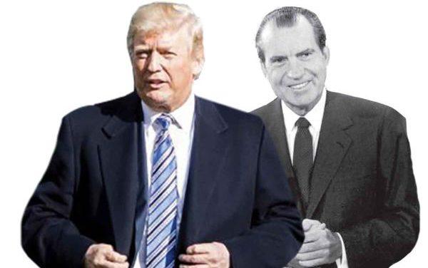 بحران در آمریکا؛ مقایسه ترامپ با نیکسون