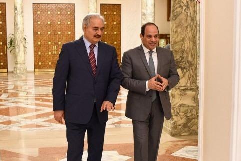 رقابت مصر و ترکیه در لیبی