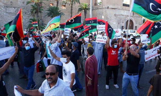 تأثیر اعتراضات خیابانی بر آینده بحران لیبی