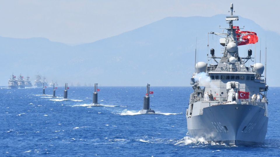 Turkey's Strategy in Defending Its Maritime Rights in the Mediterranean