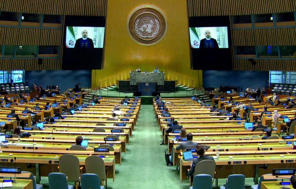 ایران و انزوای آمریکا در مجمع عمومی سازمان ملل متحد