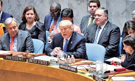 Consequences of the US defeat in the Security Council