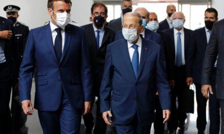 فرانسه و بحران سیاسی لبنان