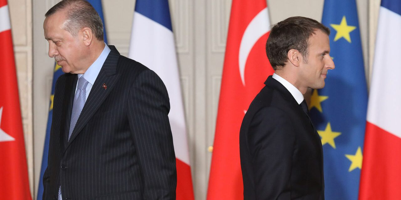 پشت پرده تشدید اختلافات فرانسه و ترکیه