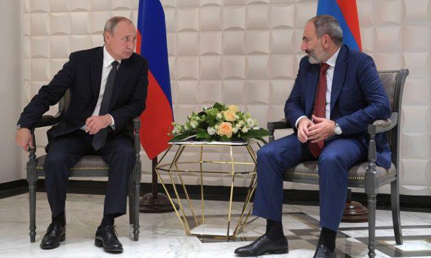 رسانه ها ؛ حمایت پوتین از ایروان و…