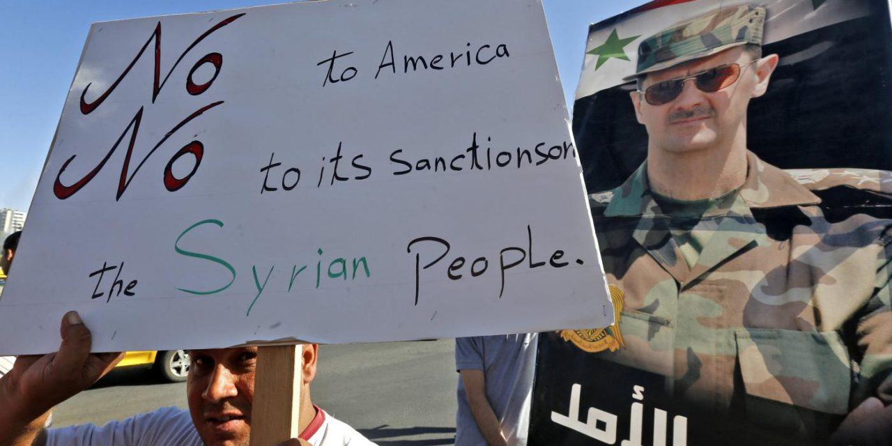 تحریمهای آمریکا و اروپا علیه سوریه