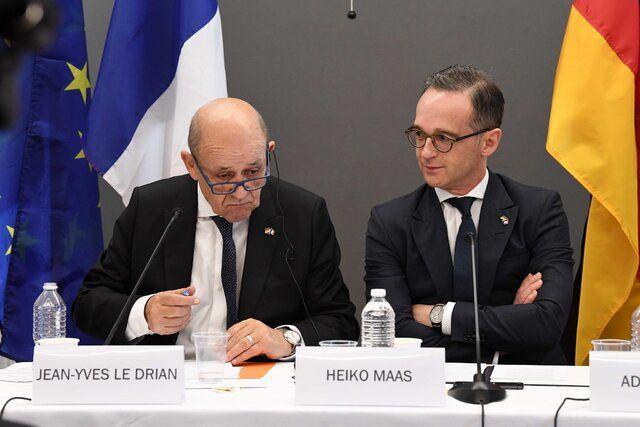 رسانهها: نشست وزرای خارجه آلمان، انگلیس و فرانسه درباره توافق هستهای ایران و…