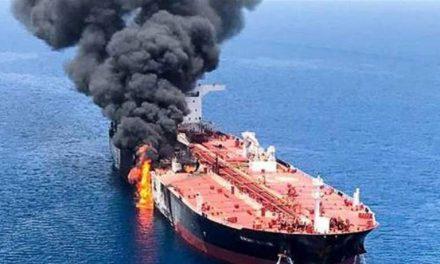 پیام انفجار کشتی اسرائیلی در خلیجفارس