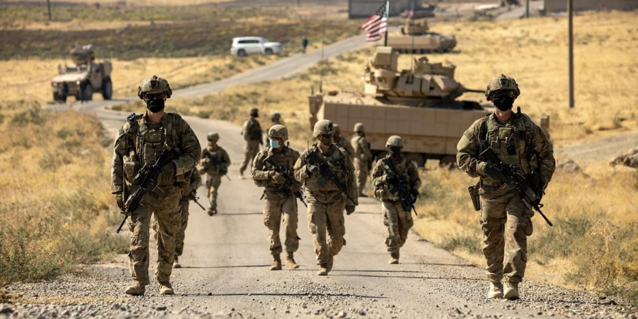 Continued military presence of the United States in Syria; leverage for obtaining political concessions