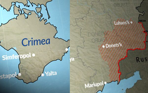 New wave of confrontation between Moscow and West in the East of Ukraine and the Black Sea