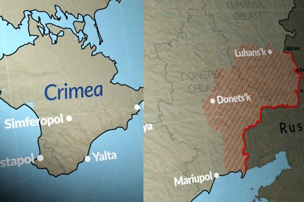 موج تازه تقابل روسیه و غرب در شرق اوکراین و دریای سیاه