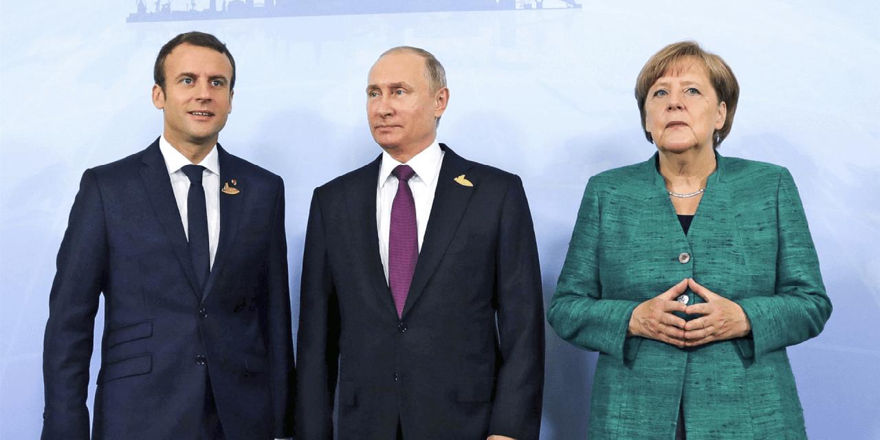 سردرگمی اروپا در روابط با روسیه