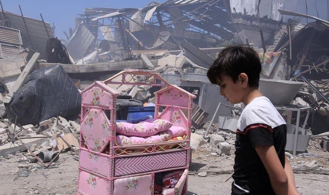 رسانهها؛ادامه بمباران غزه و…