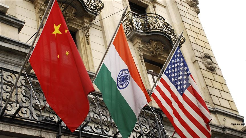 رویکرد آمریکا و هند در قبال چین