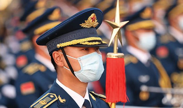آمادگی چین برای رویارویی نظامی با آمریکا