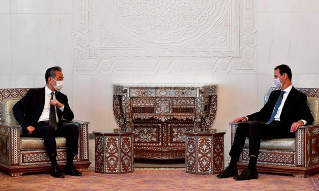 Chinese Foreign Minister Visits Damascus; a New Strategy for Syria