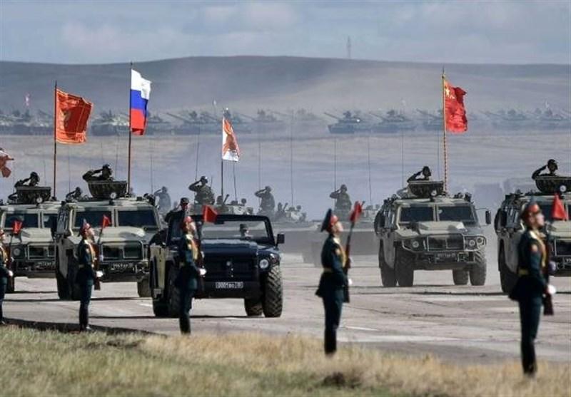 پیامها و اهداف مانور مشترک نظامی چین و روسیه