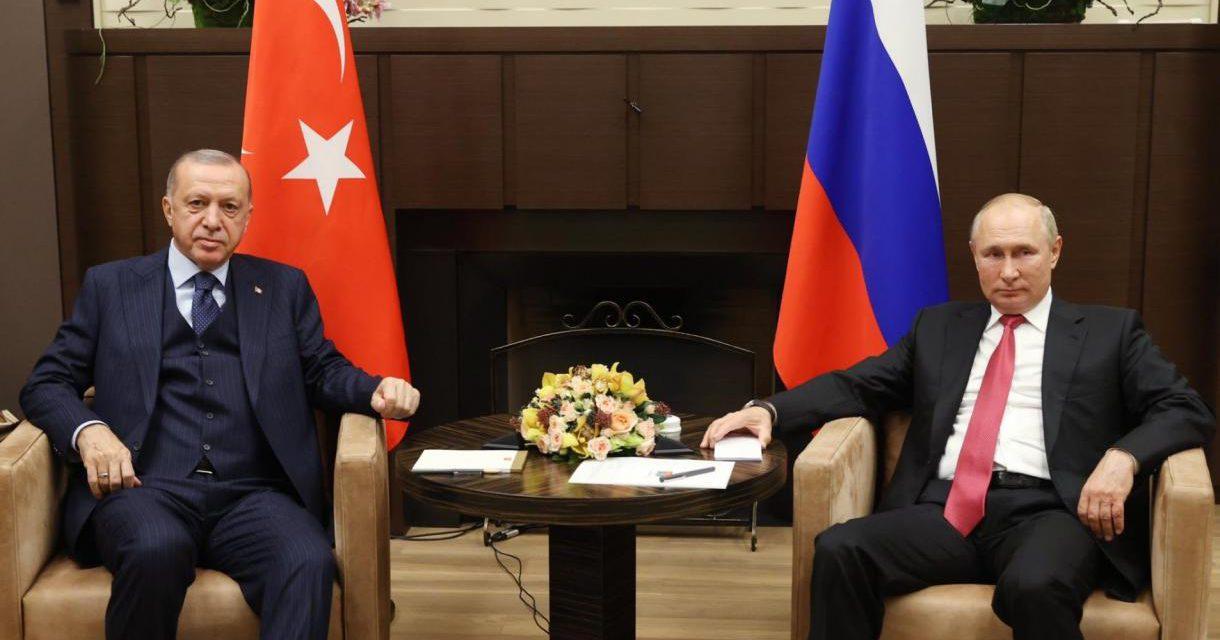 پیام و دستاورد دیدار اخیر اردوغان و پوتین