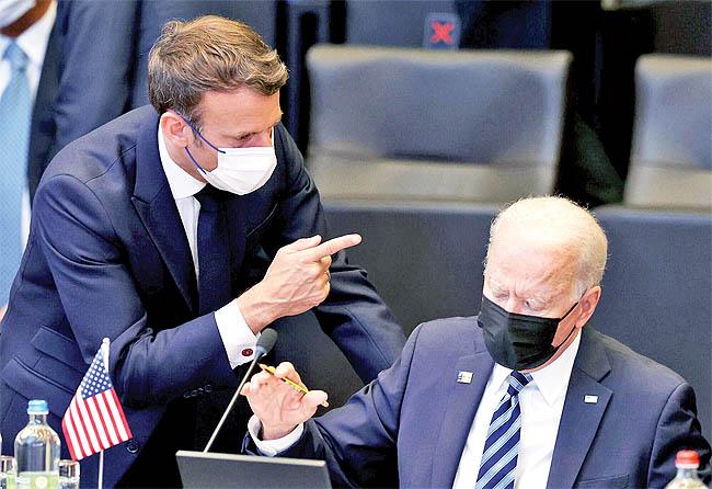 چشمانداز روابط اروپا و آمریکا در سایه تشدید اختلافات بر سر پیمان آکوس